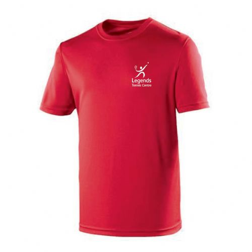 Legends Tennis Red Team Player 2018 T-Shirt Kids